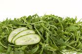 Green fresh cucumbers — Stock Photo