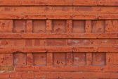 Ornamental pattern of an old brick wall, texture, background  — Stok fotoğraf