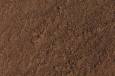 Texture plowed, cultivated land. can be used as a background — Stock Photo