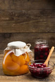 Preserved Fruit — Stock Photo