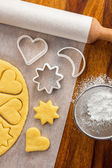 Making Cookies — Stock Photo