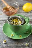 Chamomile tea — Stock Photo