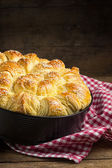 Pogaca, traditional savory pastry — Stock Photo