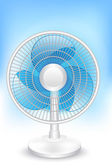 Electric Fan — Stock Vector