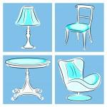 Furniture — Stock Vector #46488995
