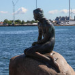 Monument to the Little Mermaid, Copenhagen, Denmark — Stock Photo