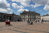 Royal Amalienborg Palace in Copenhagen, Denmark — ストック写真