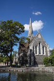 St. Alban's Anglican Church, Copenhagen — Stock Photo