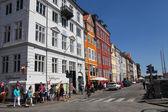 Nyhavn street in Copenhagen, Denmark — Stock Photo