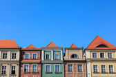 Houses in Old Market Square, Poznan, Poland — Stock Photo