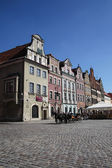 Main square of Poznan, Poland — Stock Photo