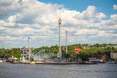 Park Gröna Lund, Stockholm — Stok fotoğraf