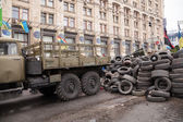 Khreshchatyk street, Euromaidan, Kyiv, Ukraine — Stock Photo