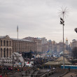 Stock Photo: MaidNezalezhnosti, Euromaidan, Kyiv, Ukraine