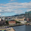 Stock Photo: View of embankment of Oslo, Norway