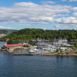 Stock Photo: Harbor for yachts and boats in Oslo Fjord
