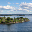 Stock Photo: Island in Oslo fjord