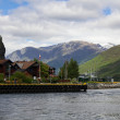 Stock Photo: Pier for ships, Flam, Norway