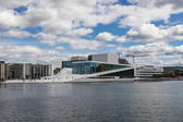 View of the opera house in Oslo — Foto Stock