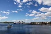 Passenger liner, Oslo — Stok fotoğraf