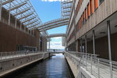 Area Aker Brygge, Oslo, Norway — Stockfoto