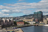 View of the embankment of Oslo, Norway — Stock Photo