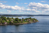 Island in Oslo fjord — ストック写真