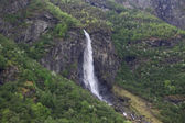 Waterfall in the mountains of Norway — Stockfoto