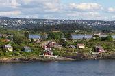 Island in the Oslo fjord — ストック写真