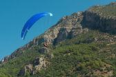 Paragliding in Oludeniz, Turkey — Zdjęcie stockowe