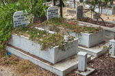 Cementerio musulman, kas, turquía — Foto de Stock