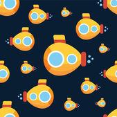 Żółtej łodzi podwodnej — Wektor stockowy