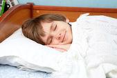 Det sovande barnet — Stockfoto