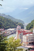Resort in Caucasus Mountains — 图库照片