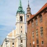 Church of the Holy Spirit  in Torun — Stock Photo #47858261