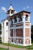 Russian orthodox belltower in Suzda — Stock Photo