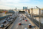 Third Ring Road, Moscow, Russia — Stock Photo