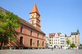 New Town Market in Torun — Stock Photo
