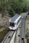Funicular in Karlovy Vary — Stock Photo