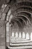 Aspendos roma tiyatro galerisi — Stok fotoğraf