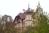 Private residence in Karlovy Vary — Stock Photo