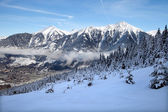 Valley in Alps — Stock Photo