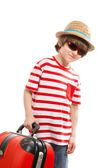 Boy tourist — Stock Photo