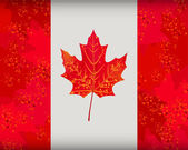 Canadian flag — Stock Vector