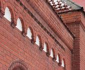 Brick architecture — Stock Photo