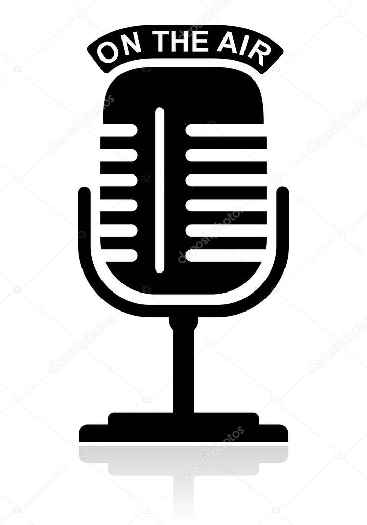 矢量话筒logo