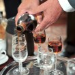 Man hands pouring drink — Стоковое фото #42354055