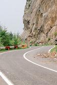 Beautiful Transfagarasan romanian spectacular mountain road — Stock Photo
