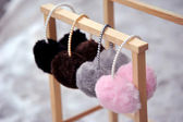 Fashion ear muffs — Stock Photo