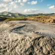 Amazing scenery at Muddy Volcanoes Romania — Stock Photo